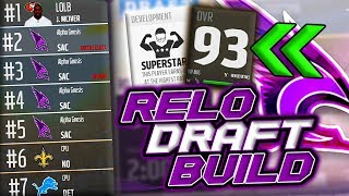 HUGE FREE AGENCY PICKUP!!! NEW SUPERSTAR SAFETY!! | Relo Draft Builds Sacramento Condors Pt. 2