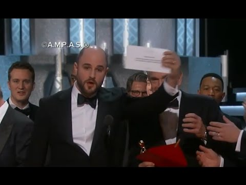 Oscar Awards: 'La La Land' Producer Jordan Horowitz On Best Picture Mix-Up clip