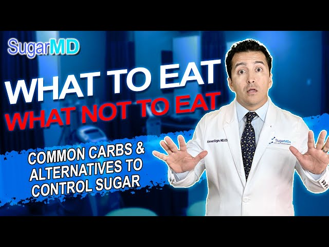 What to eat & What NOT to eat for diabetes? DIABETES TIPS!