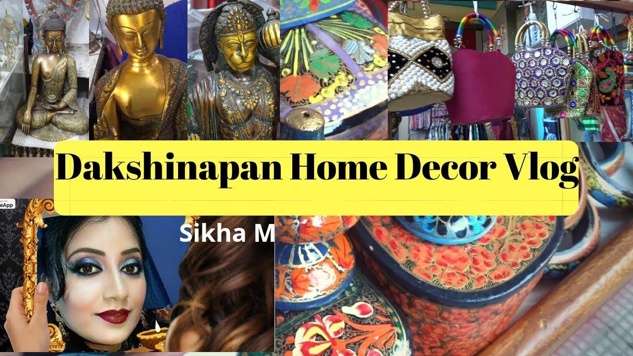 Dakshinapan Shopping Vlog Kolkata Shopping Dakshinapan Home Decor Vlog Sikha M Youtube