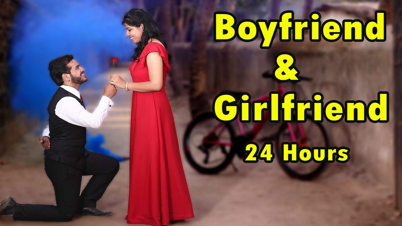 Living Like Girlfriend & Boyfriend For 24 Hours Challenge | Hungry Birds