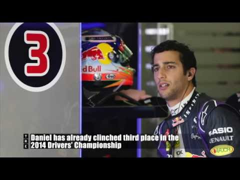 """Daniel Ricciardo: """"Yeah, it did exceed expectations a little...."""""""