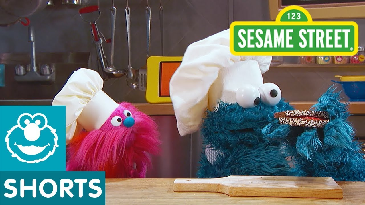 Sesame Street Peanut Butter And Jelly Sandwich Cookie Monster S Foodie Truck