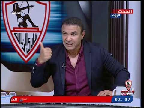 المعلق احمد الطيب بعد تعدي أحمد شوبير عليه في برنامج وائل الإبراشي: ضربته في الفاصل وخدت حقي