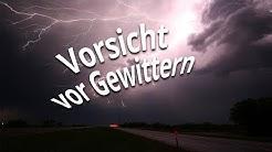 3-Tage-Vorhersage : Vorsicht! Gewitter sind möglich