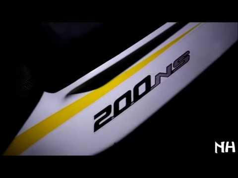 New 2017 Pulsar NS 200,Promo video