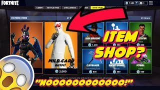 NEW WHITE SUIT JOHN WICK *WILD CARD SKIN* IN FORTNITE ITEM SHOP *NOT FREE*