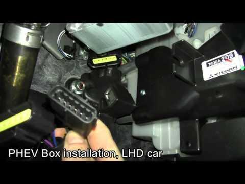 Mitsubishi Outlander PHEV Box installation for pure EV mode