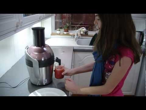 Philips Avance Juicer - assembly and use