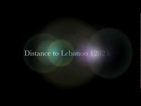 MEA Landing in Beirut HD 1080p