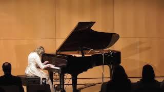 Allison Rhodes - Piano: Sonata in E flat Major, K 282