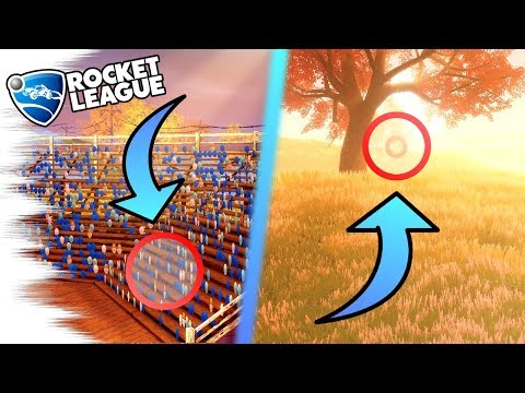 Rocket League Update: 10 INSANE SECRETS/EASTER EGGS on FARMSTEAD! - Outside the New Map Gameplay!