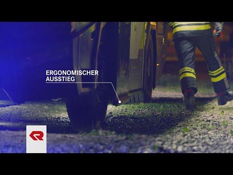 Concept Fire Truck – Hervorragende Ergonomie