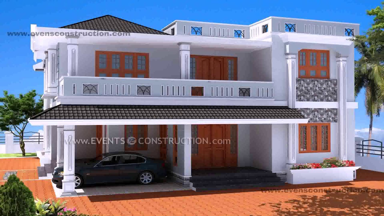 House Front Compound Wall Design Images - YouTube