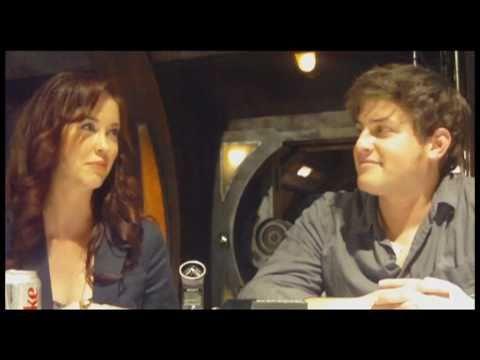 Stargate Universe  David Blue and Elyse Levesque s