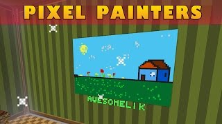 Pixel Painters | DIBUJANDO EN MINECRAFT