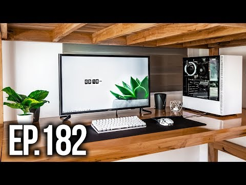 Room Tour Project 182 - Clean & Minimal Setup Edition!