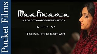 Emotional Short Film - Maafinama...A Road Towards Redemption | Hindi | Pocket Films