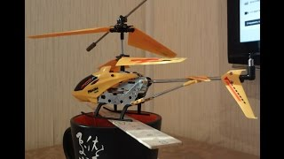 ремонт вертолета с дистанционным управлением после падения(, 2015-01-16T09:02:17.000Z)
