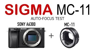 Sigma MC-11 adapter test: 35mm Art, 15mm, Canon 50mm 4K