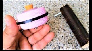 Make a Beyblade of pressure seals for bottle
