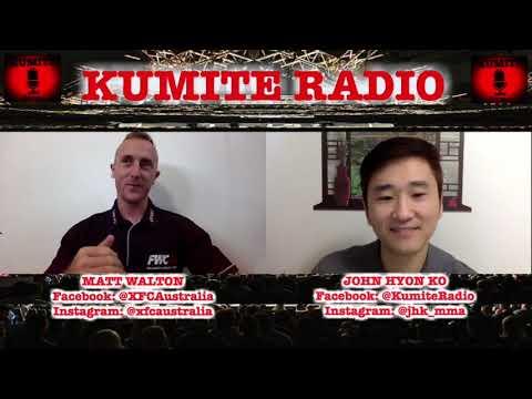 Matt Walton Talks Growing The Sport In Australia, Previews XFC 34: Friday Night Fights