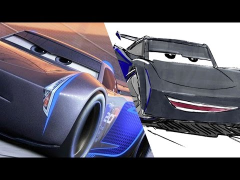 How to Draw: Jackson Storm from Cars 3 | Pixar LIVE