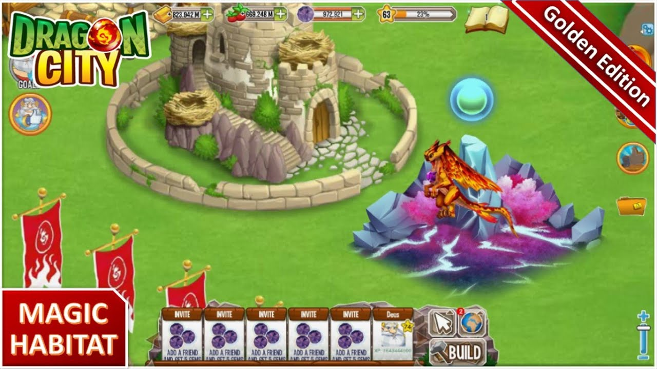 Get Food Free Dragon City