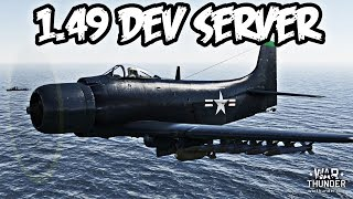 War Thunder 1.49 Dev Server Quick US/USSR Plane Preview - AD-2 Skyraider, P-47M, P-51D-10, and More