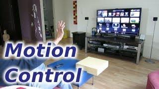 Gesture Control Test - Samsung TV