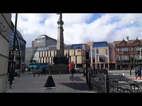 A Walk in Newcastle Upon Tyne England