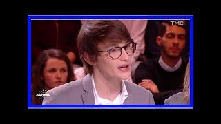 Quotidien : Aurélien Enthoven victime d'attaques antisémites, il réagit