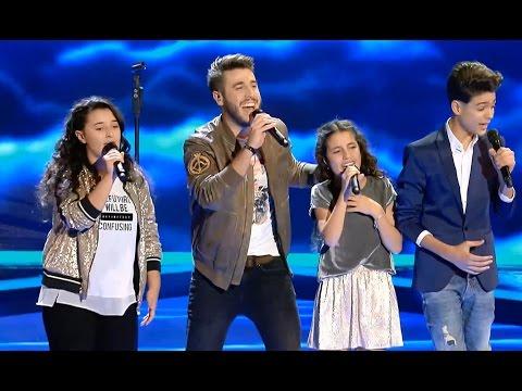 """Antonio José ft. finalistas: """"Tengo Un Corazón"""" – Final  - La Voz Kids 2017"""