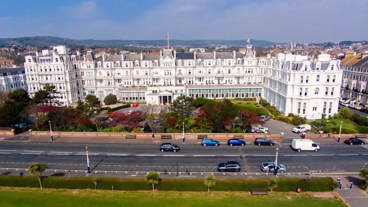 DJI Phantom 2 Vision + The Grand Hotel Eastbourne East Sussex