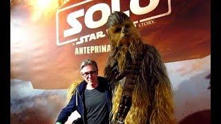 Leo Ortolani incontra Chewbacca - Anteprima Milano Solo A Star wars Story