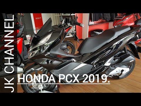 Honda Pcx 2019 Tampilan Lebih Gahar Review Singkat Dan Harga Youtube