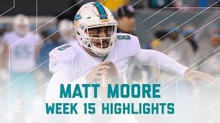 Matt Moore Tosses 4 TDs! | Dolphins vs. Jets | NFL Week 15 Player Highlights
