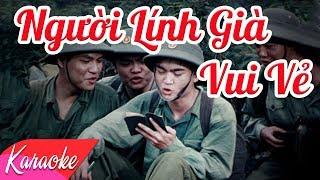 KARAOKE | Người Lính Già Vui Vẻ - St. Thanh Trúc | Beat Chuẩn
