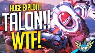 Overwatch Hacker Plays as TALON in Competitive! (HUGE EXPLOIT!)