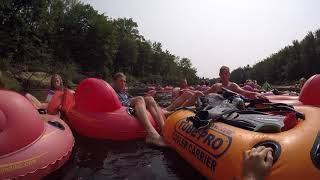 FINDING WHISKEY ON THE SACO RIVER!?!?! Underwater Treasure Hunting!!!