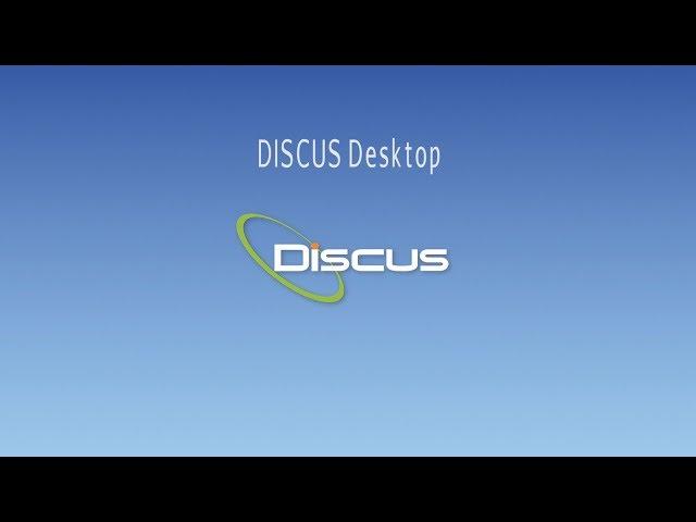 DISCUS Desktop - AS9102 Software