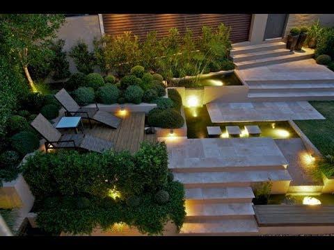 garden lighting trends 2019 - ideas