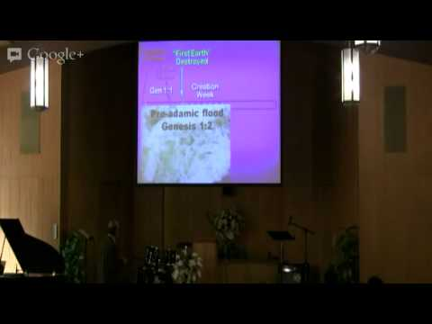 Creation Conference: Geology (April 14, 2013 Sunday Service)