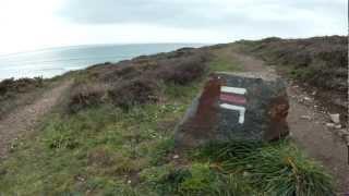 Pointe de Talagrip (baie de Douarnenez), maison du douanier, 10 mars 2012