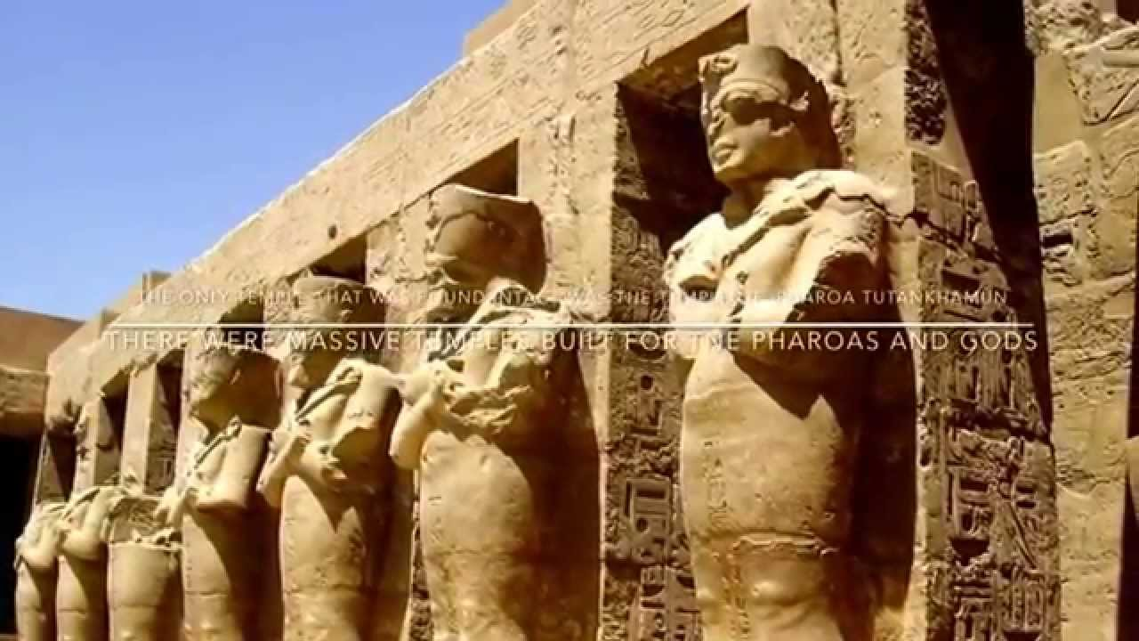 art architecture of ancient egypt