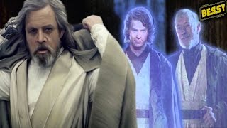 why anakin and obi wan didn t tell luke about his dark future kylo ren and rey canon