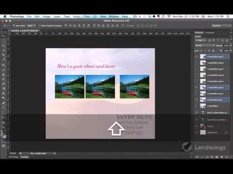 09  Выравнивание слоев  Photoshop CS6