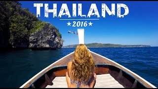 GoPro HERO 4 | AMAZING THAILAND TRIP | Travel | 2016