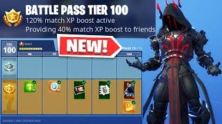 ALL SEASON 7 BATTLE PASS REWARDS UNLOCKED! (Ice King, Gun Camo/Wraps)