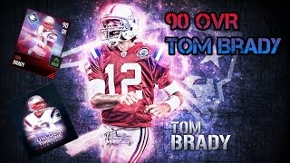 Getting 90 Overall Tom Brady!!Timeline Live Event